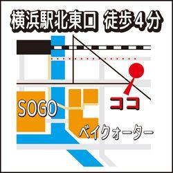 横浜サロンアクセス地図