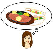 肉をしっかり食べなから痩せるナカメダイエット